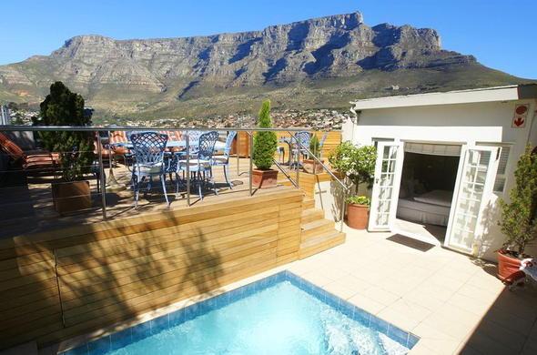 Cloud Nine Boutique Hotel Cape Town Guest House Location - Table mountain hotel cape town