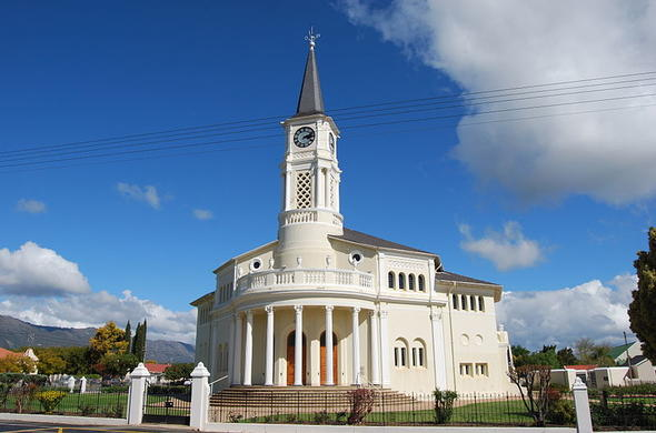 Porterville Kerk in South Africa.