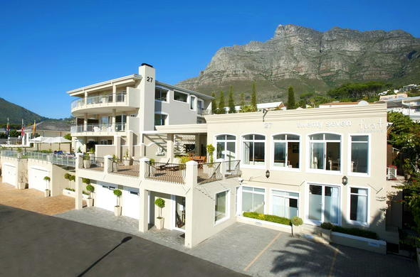 Exterior view of 3 on Camps Bay Boutique Hotel.